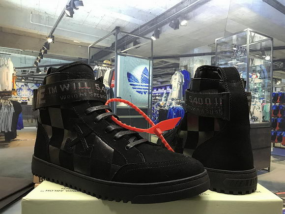 Off-white Arrows High Top Sneakers Unidex Black