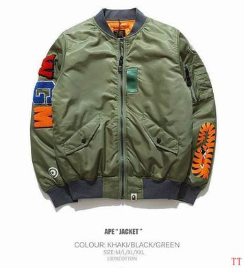 A Bathing Ape Bape Bomber Jacket ID:20180507007