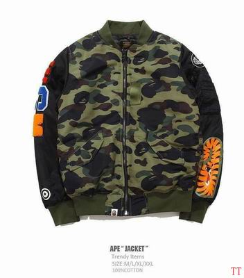 A Bathing Ape Bape Bomber Jacket ID:20180507008