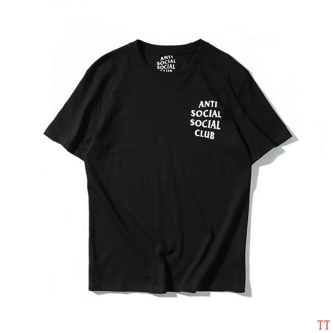 Anti Social Club T-Shirt Mens ID:20181006001