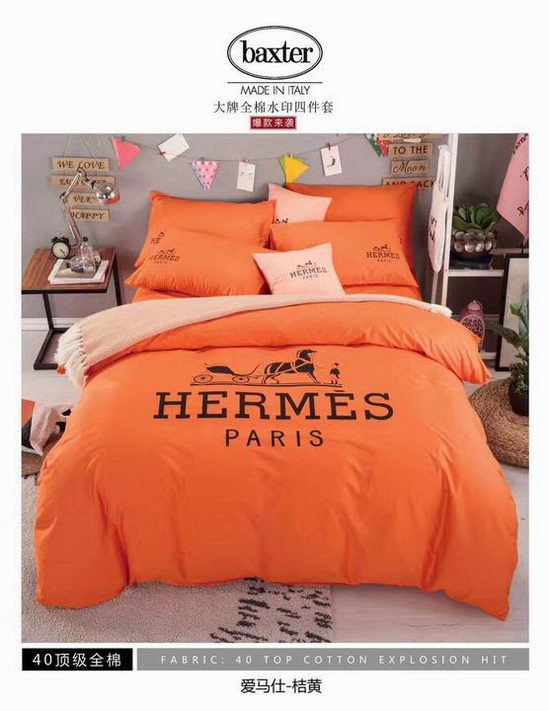 Hermes four pieces beddings ID:20190403a3