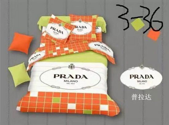 Prada four pieces beddings ID:20190403a8
