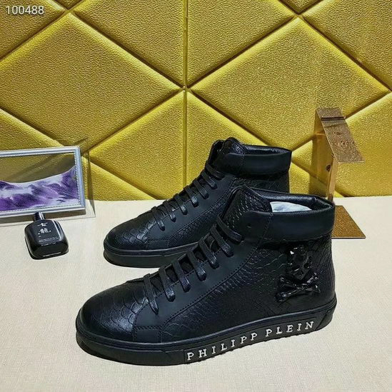 Philipp Plein Shoes Mens Black ID:20190404a119