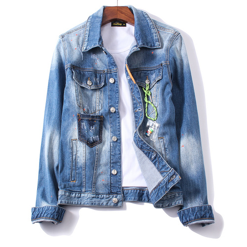 DSquared D2 Jeans Jacket Mens ID:20190828a3