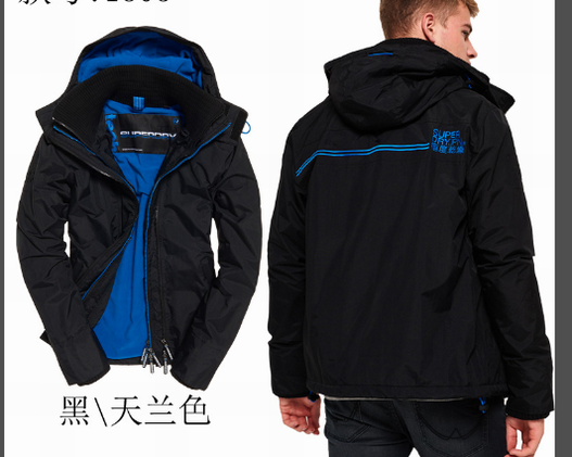 Superdry Jacket Mens ID:201911a181