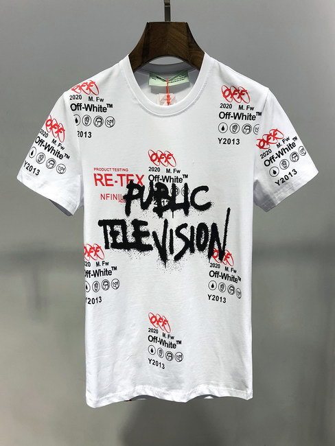 Off White T-Shirt Mens ID:202003d321
