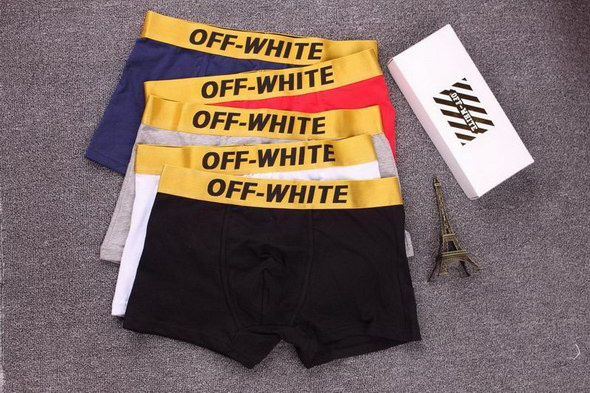 Off White Boxer Shorts Mens 3-pac ID:202004b270