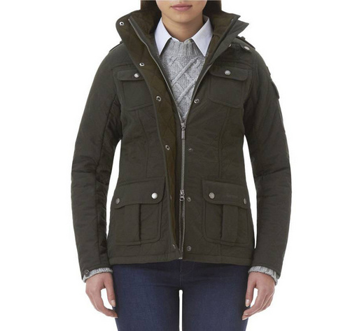 Barbour Utility Force Quilted Jacket Wmns ID:202009d103