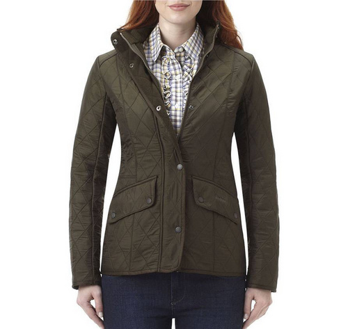 Barbour Cavalry Polarquilt Jacket Wmns ID:202009d21