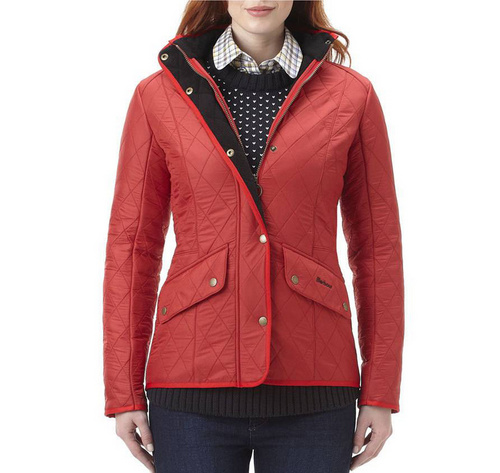 Barbour Cavalry Polarquilt Jacket Wmns ID:202009d25