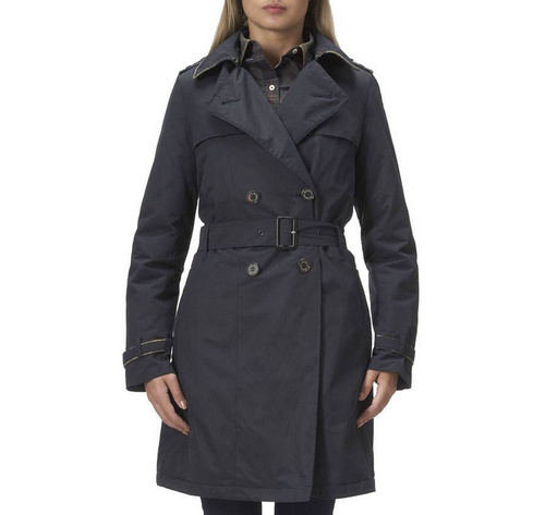 Barbour Chatsworth Trench Coat Wmns ID:202009d28