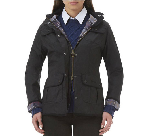 Barbour Ladies Utility Waxed Jacket Wmns ID:202009d61