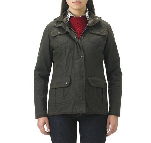 Barbour Ladies Utility Waxed Jacket Wmns ID:202009d62
