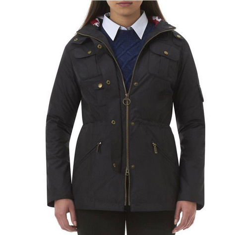 Barbour Outdoor Winter Force Parka Jacket Wmns ID:202009d76