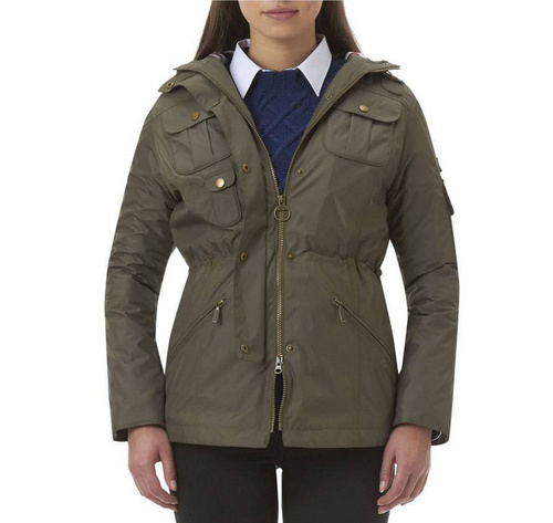 Barbour Outdoor Winter Force Parka Jacket Wmns ID:202009d77