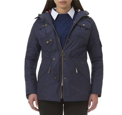 Barbour Outdoor Winter Force Parka Jacket Wmns ID:202009d78