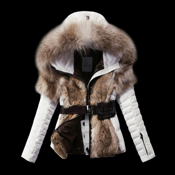 Moncler Down Fur Jacket Wmns ID:202009d140
