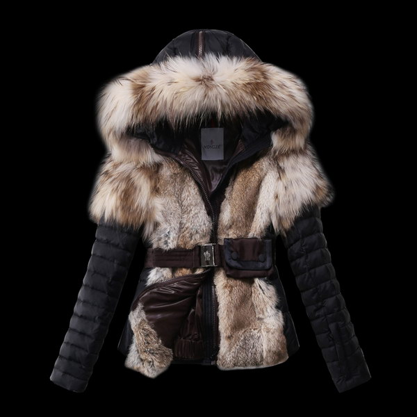 Moncler Down Fur Jacket Wmns ID:202009d142