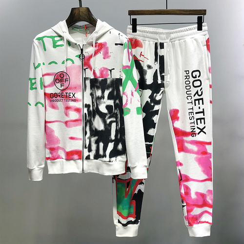 Off White Tracksuit Mens ID:202009d178