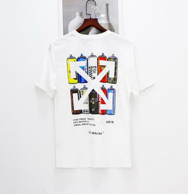 Off White T-shirt Mens ID:202103b726