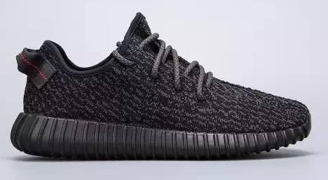 Adidas Yeezy 350 Boost Black Big Size