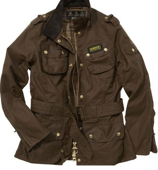 Barbour Bright Brass Jacket Brown Wmns(L)