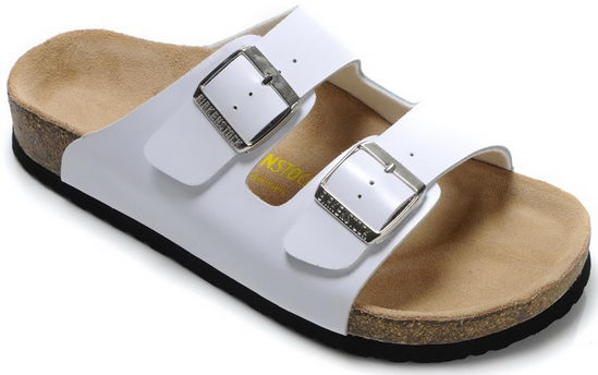 Birkenstock Arizona White Unisex