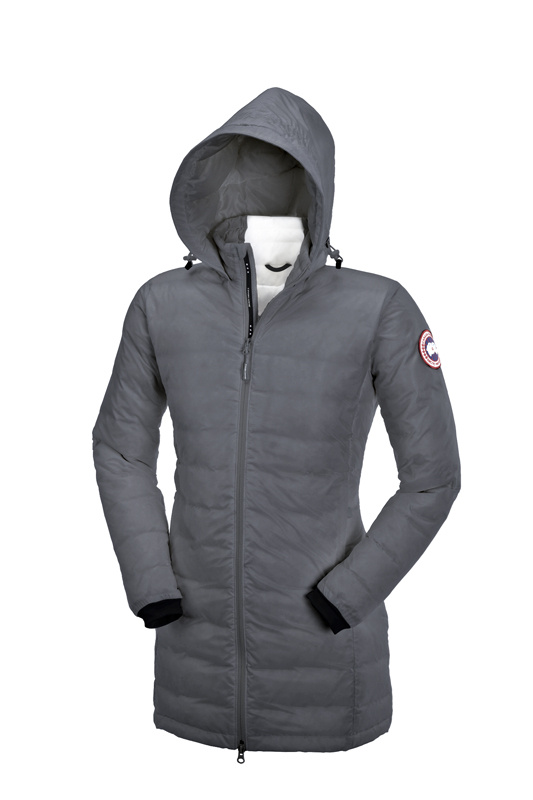Canada Goose Camp Hooded Jacket Grey Wmns