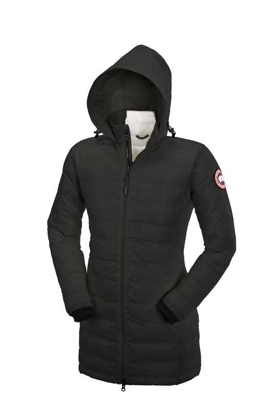 Canada Goose Camp Hooded Jacket Black Wmns