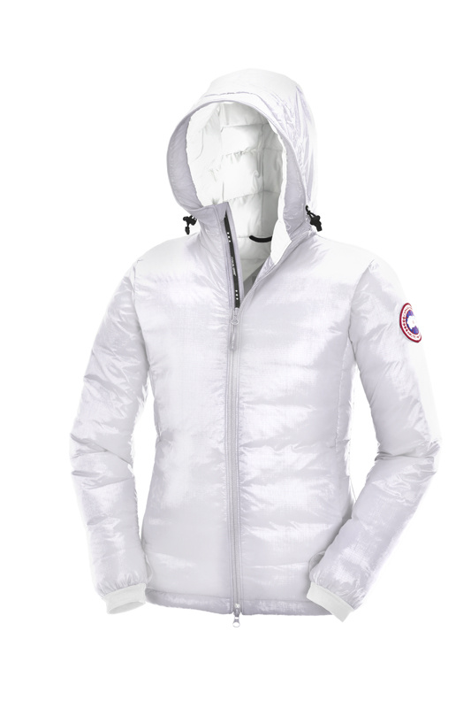 Canada Goose Camp Hoody White Wmns