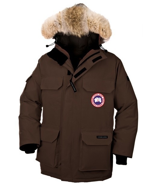 Canada Goose Expedition Parka Brown Mens