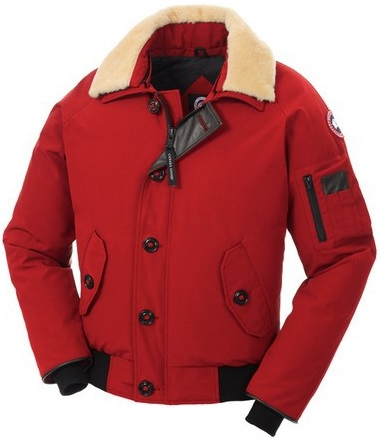 Canada Goose Foxe-Bomber Parka Red Mens