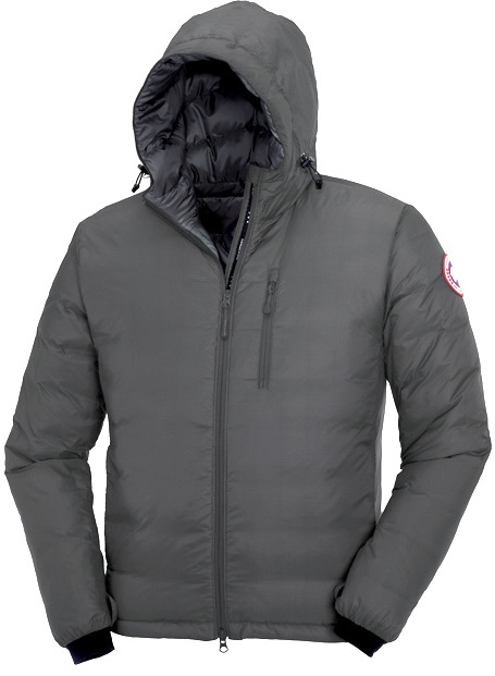 Canada Goose Lodge Hoody Grey Mens