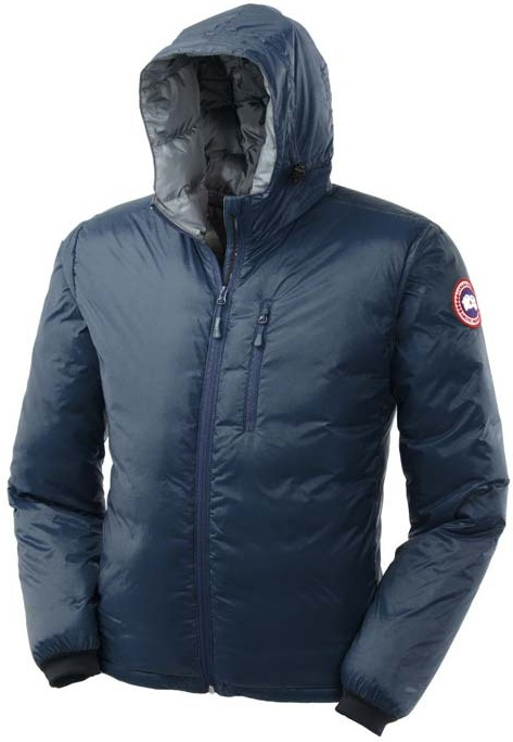 Canada Goose Lodge Hoody Blue Mens