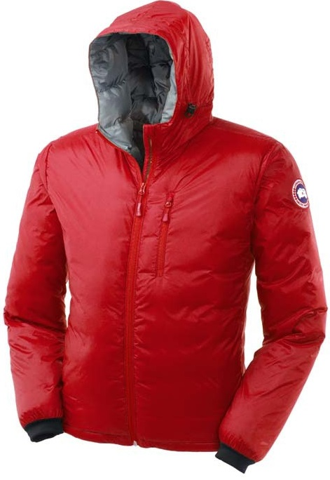 Canada Goose Lodge Hoody Red Mens