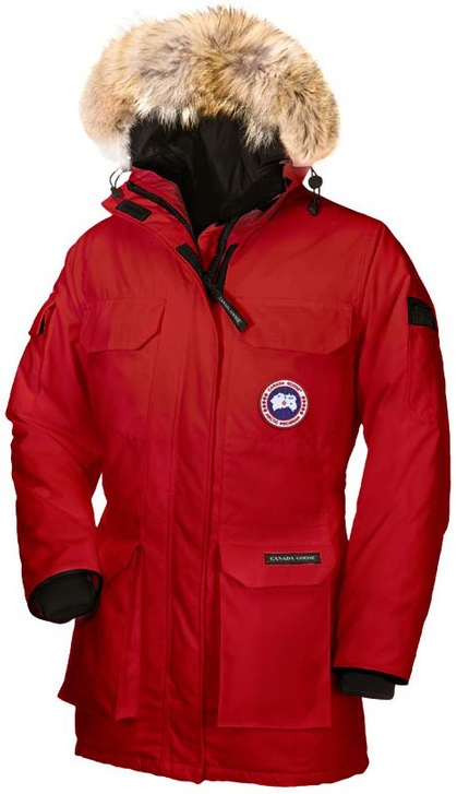 Canada Goose Expedition Parka Red Wmns
