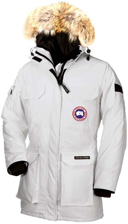 Canada Goose Expedition Parka White Wmns