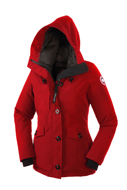 Canada Goose Rideau Parka Red Wmns