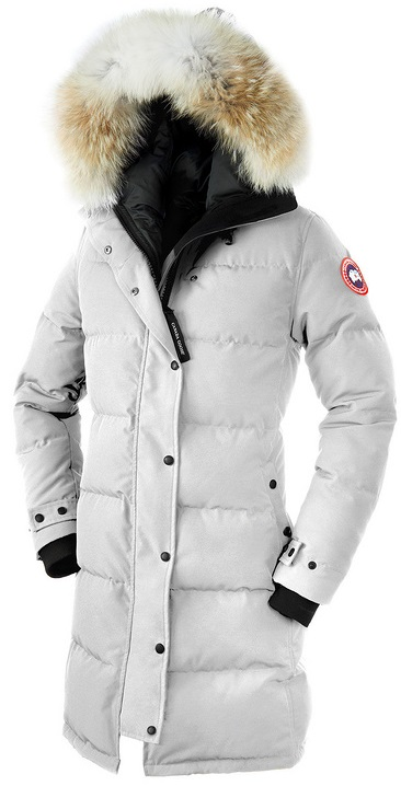 Canada Goose Shelburne Parka White Wmns