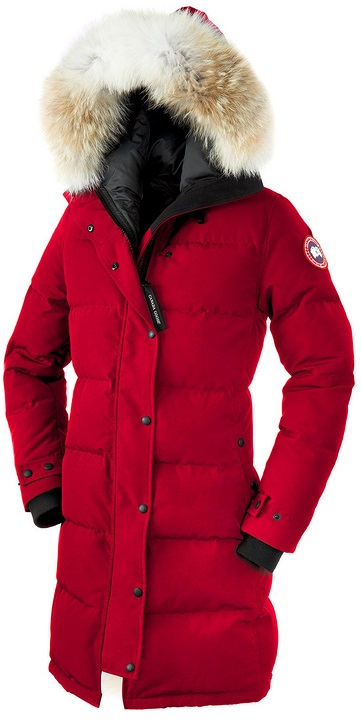 Canada Goose Shelburne Parka Red Wmns