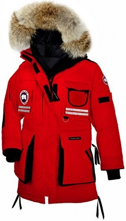 Canada Goose Snow Mantra Jacket Red Wmns