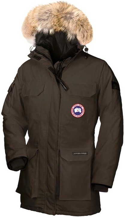Canada Goose Expedition Parka Brown Wmns