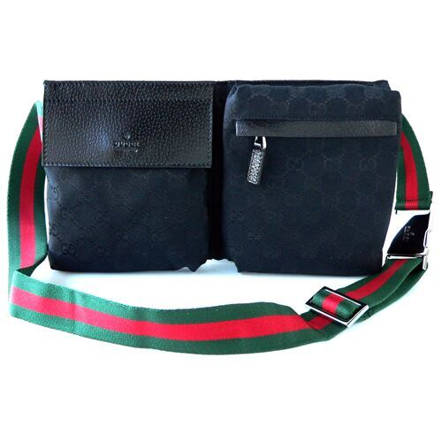 Gucci Bum Bag 28566 Black