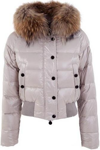 Moncler Alpes Jacket White Wmns
