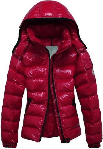 Moncler Bady Jacket Red Wmns