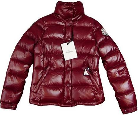Moncler Clairy Jacket Maroon Wmns