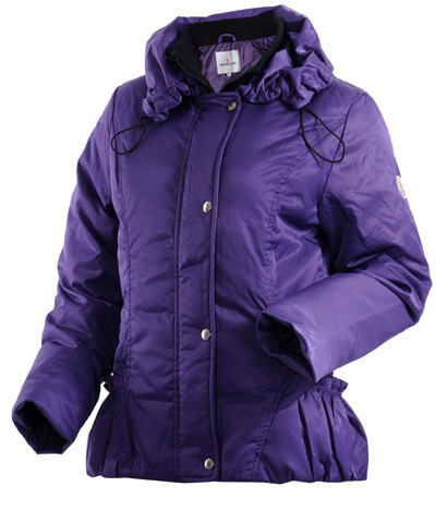Moncler Classic Down Jacket Purple Wmns
