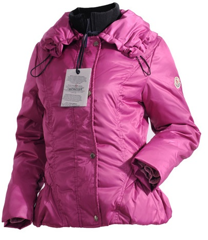 Moncler Classic Down Jacket Pink Wmns