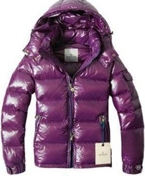 Moncler Himalaya Jacket Purple Mens