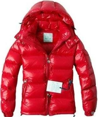 Moncler Himalaya Jacket Red Mens